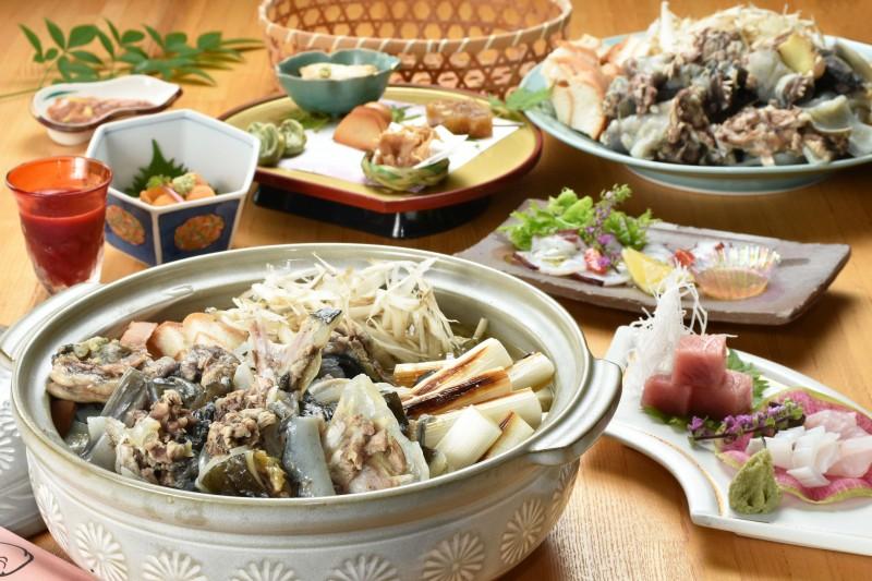 スッポン料理(横)