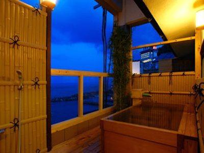 うみのホテル 中田屋 コンパニオン宴会+露天風呂付客室