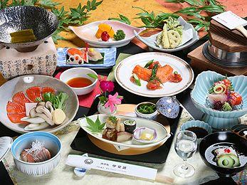 ホテル甲斐路・料理