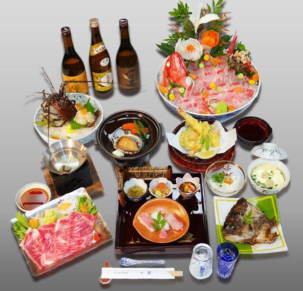 伊豆長岡温泉 一條:コンパニオン宴会(食事)