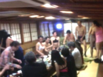 """""""オジサン潜入""""屋形船宴会にお忍び!"""